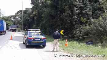 Homem morre atropelado ao atravessar BR-116, em Campina Grande do Sul - Diário Indústria&Comércio