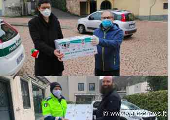 Cumdi dona altre 800 mascherine a Germignaga e Marchirolo - Varesenews