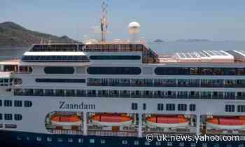 Virus-stricken Zaandam cruise liner docks in Fort Lauderdale, Florida