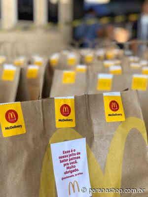 Quase 1000 em Curitiba: McDonald's doa refeições para profissionais de saúde em 22 cidades brasileiras - Paranashop