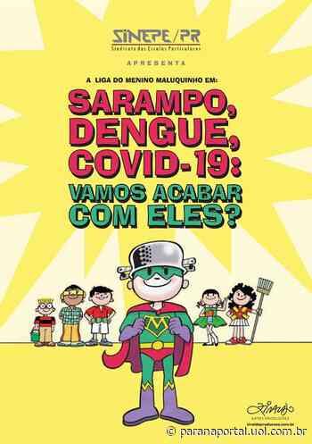 Conscientização: Cartilha do Menino Maluquinho é distribuída em supermercados de Curitiba - Paraná Portal