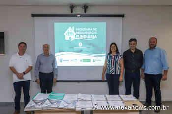 Nova Andradina - Regularização fundiária do bairro Flávio Derzi está concluída - Nova News