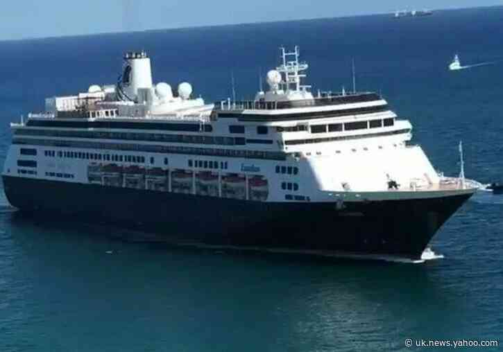 Coronavirus-Affected Zaandam Cruise Ship Arrives at Florida's Port Everglades