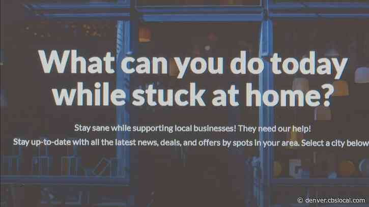 'Keep Local Alive': Website Highlights Businesses Offering Creative Activities To Do At Home