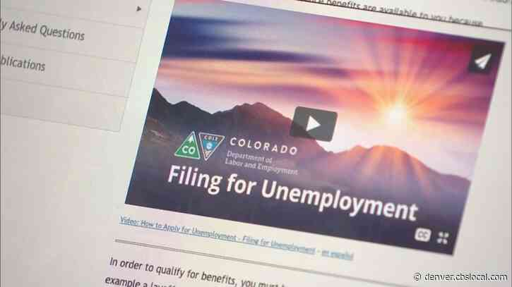 Colorado's Coronavirus-Related Jobless Claims Continue Their Surge
