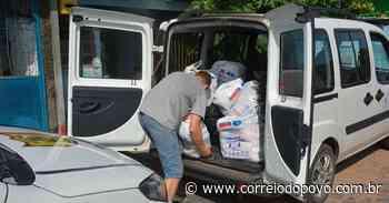 Santa Cruz do Sul arrecada 2,5 toneladas de alimentos - Jornal Correio do Povo