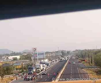 Comerciantes de Emiliano Zapata bloquean autopista México-Acapulco - Noticias de Morelos - La Crónica de Morelos