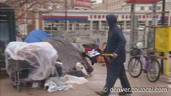 Crews Cleans Up Homeless Camp In Denver
