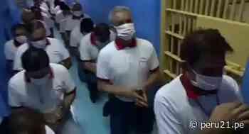 Ica: Reclusos de penal de Chincha hacen cadena de oración pidiendo cura para el coronavirus   VIDEO - Diario Perú21