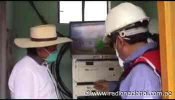 Autoridad regional de Ica inspecciona antenas en distritos de la región - Radio Nacional del Perú