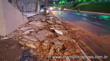 Diário dos Campos | Vento forte causa quedas de árvores em Ponta Grossa - Diário dos Campos