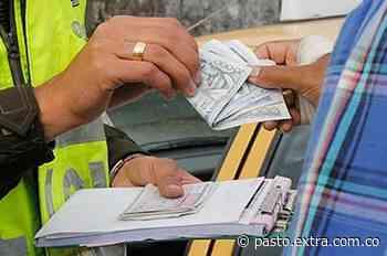 En Túquerres, con 100 mil pesos quiso 'comprar' a los policías - extra.com.co