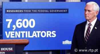 Casa Branca invoca lei militar para obrigar empresas a produzir ventiladores - RTP