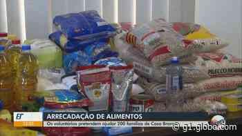 Rio Claro, Casa Branca e Águas da Prata arrecadam alimentos para famílias carentes, autônomos e desempregados; veja como ajudar - G1