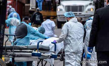 Mortes por coronavírus superam 4 mil nos EUA e Casa Branca estima que número pode chegar à 240 mil - Dom Total