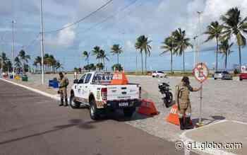 Estacionamentos da Orla da Atalaia, 13 de Julho e Praia Formosa em Aracaju são fechados para evitar aglomerações - G1