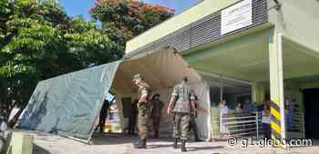 Santa Casa de Vinhedo recebe tendas do Exército para atendimento no combate ao novo coronavírus - G1