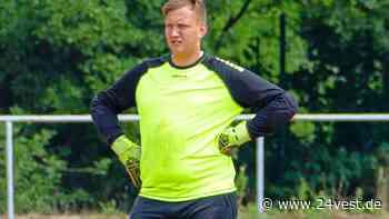 Fußball: Torwart Max Halberstadt von DJK SF Datteln II zu SW Meckinghoven | Datteln - 24VEST