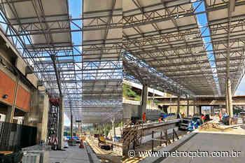 Nova estação de Francisco Morato entra na reta final de construção - Metrô CPTM