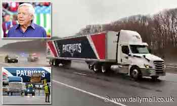 Patriots owner Robert Kraft sends 300,000 N95 masks to New York on a team truck