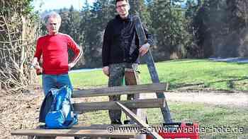 Dotternhausen: Die Ruhebänke werden saniert - Dotternhausen - Schwarzwälder Bote