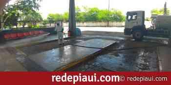 Águas de Teresina faz a desinfecção preventiva no Terminal Rodoviário de Teresina - Rede Piauí de Notícias