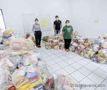 Ponto arrecada mais de 100 cestas básicas por manhã para o Teresina Solidária - Coronavírus - Últimas Notícias - Cidadeverde.com