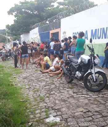 Prefeitura de Teresina começa a distribuir cestas básicas em escolas - Jornal Diário do Povo do Piauí