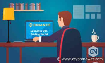Binance Introduces OTC Trading Portal to Make a Big Trade - CryptoNewsZ