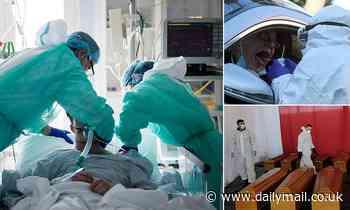Coronavirus Italy: 14,681 now dead but rates start to slow