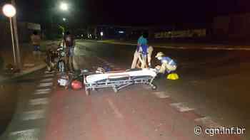 Colisão entre motocicletas mobiliza socorristas do Siate ao Bairro Santa Cruz - CGN