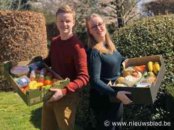 Broer en zus lanceren 'Happy Food Boxes' met verse producten - Het Nieuwsblad