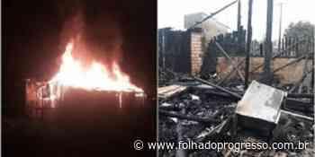 Incêndio destrói casa em Itaituba – Folha do Progresso – Portal de Noticias , Entretenimento, Videos, Brasil! - Jornal Folha do Progresso