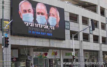With Gantz on patio and Netanyahu inside, sides say progress made toward unity gov't