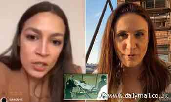 AOC blasted for holding a coronavirus video forum from the safety of her luxury DC home