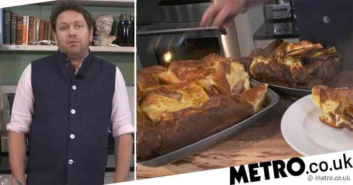 Saturday Kitchen's James Martin shows us how to make his toad in the hole recipe