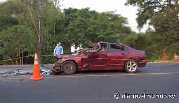 Hombre muere y su hijo resulta lesionado en accidente en Guazapa - Diario El Mundo