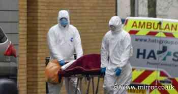 UK coronavirus death rate 'steeper than Italy' with London 'ahead of Wuhan'
