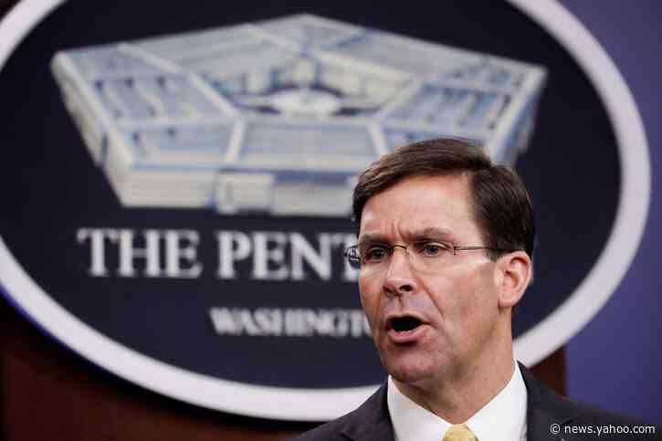 Defense Secretary Esper backed firing of carrier captain Crozier
