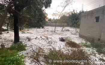 [Video] Cae granizada en Acajete - El Sol de Puebla