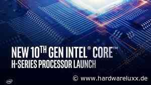Intel stellt Comet Lake-H mit bis zu acht Kernen und 5,3 GHz vor - Hardwareluxx - HardwareLuxx