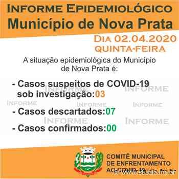 Nova Prata segue com três casos suspeitos e sete descartados de Covid-19 | Rádio Studio 87.7 FM - Rádio Studio 87.7 FM