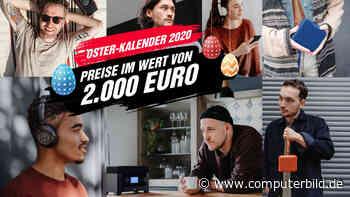 Osterkalender 2020: Gewinnspiel mit Preisen im Wert von 2.000 Euro! - COMPUTER BILD
