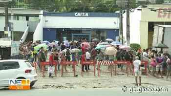 Moradores de Araçoiaba e Abreu e Lima desrespeitam recomendação de isolamento social e se aglomeram em ruas - G1