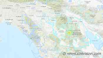 Temblor de magnitud 4.9 sacude a Anza, California - Univision