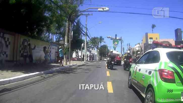 Com aplausos e muita fé, imagem do Senhor do Bonfim percorre bairros de Salvador - G1