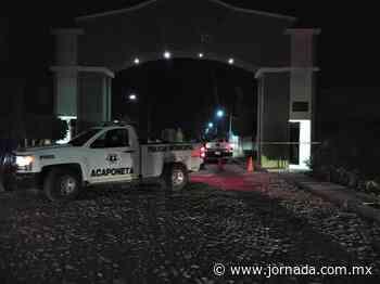 Muerte por Covid-19 en Acaponeta, Nayarit crea pánico en la población - La Jornada