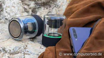 WiShake Vibes: Transparente Bluetooth-Lautsprecher von Wiko