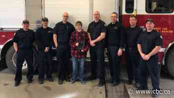 Regina teen honoured for trying to put out Walmart fire in December - CBC.ca