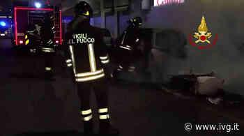 Vado Ligure, incendio in un dehors: intervento dei Vigili del Fuoco - IVG.it